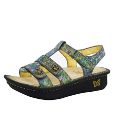 Alegria Kleo Abalone Rose comfort sandals for women