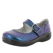 Alegria Kourtney Starlit blue stain resistant comfort mary jane shoes for women