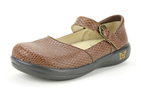 Alegria Kyra Burnish Snake slip resistant comfort shoes for women
