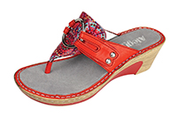 Alegria Lola Red Bloom Sandal