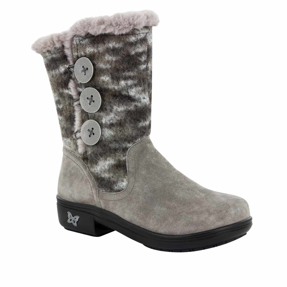 Alegria Shoes Nanook Flint Fuzzy Boots Free Shipping