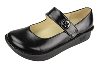 Alegria Paloma PRO Black Waxy mary jane shoes for women