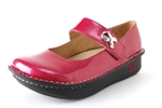 Alegria Paloma Pink Glitter Patent leather womens comfort mary jane