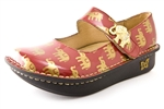 Alegria Paloma Golden Elephant womens leather mary jane on sale