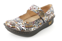 Alegria Paloma Autumn Swirl leather comfort mary jane on sale