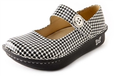 Alegria Paloma Houndstooth womens nursing mary jane on sale