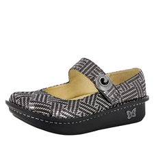 Alegria Paloma Pewter Dazzler mary jane shoes for women