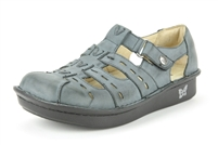 Alegria Pesca Blue Veg womens leather comfort shoe sandal