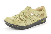 Alegria Pesca Sage Burnish womens leather comfort shoe sandal