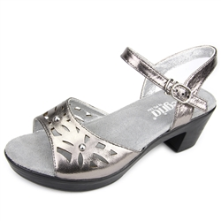 Alegria Reese Uptown Pewter womens comfort sandal