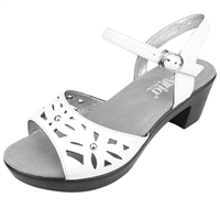 Alegria Reese White Butter womens comfort sandal