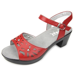 Alegria Reese Red Butter womens comfort sandal