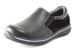 Alegria Sayde Black Patent womens leather comfort loafers on sale