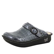 Alegria Seville Chrome Cube comfort clog shoes for women