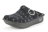 Alegria Seville Star Studded womens open back nursing shoes