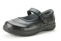 Alegria Sonya Black Napa womens athletic stain resistant nursing shoe