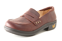 Alegria Taylor Gravy Pull-Up womens slip resistant comfort dress loafer