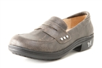 Alegria Taylor Stone Wall leather dress loafer for women