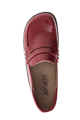 Alegria Taylor Red Waxy Free Shipping Both Ways From