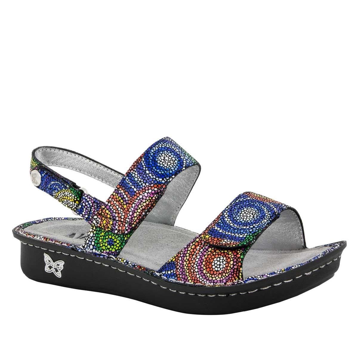 Alegria Verona Bullseye Sandals Shop Alegria Shoes