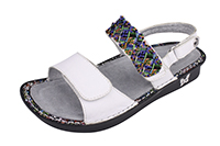 Alegria Verona Fiesta De Dia leather comfort sandals for women