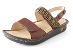 Alegria Verona Antique Bead Work womens leather sandal on sale