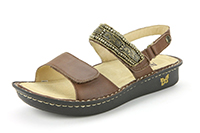Alegria Verona Antique Brass leather comfort sandals for women