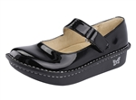 Alegria Kids Vinca Paloma Black Patent mary jane for girls