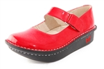 Alegria Kids Vinca Paloma Red leather mary jane for girls