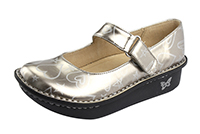 Alegria Kids Vinca Paloma Pewter Hearts girls comfor shoes