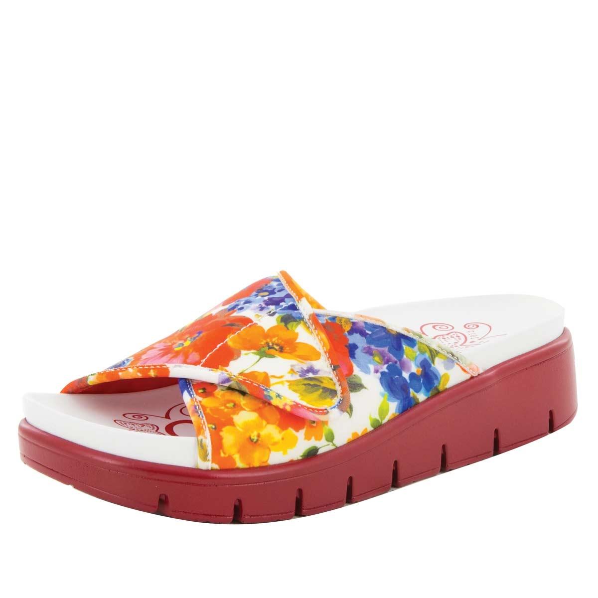 Alegria Alli Leaded slip resistant women's comfort shoe, Alegria Airie  Florever comfort sandals for women ...