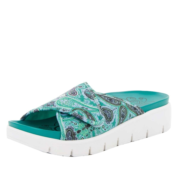 Alegria Airie Woodstock Turquoise comfort sandals for women