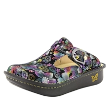 Alegria Classic Liberty Love womens open back clog