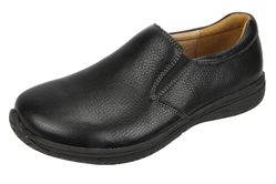 Alegria Men's Aaron Black Tumbled