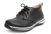 Alegria Mens Aden Black Wave  leather ankle oxford on sale