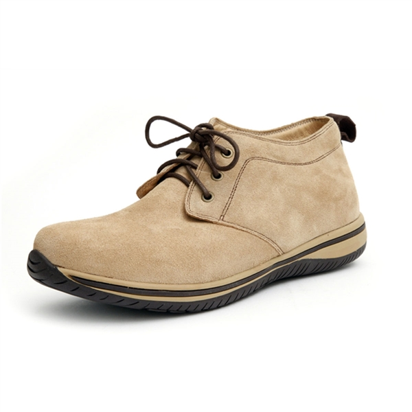 Alegria Mens Aden Sand Suede comfort ankle oxford on sale