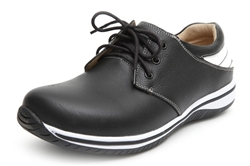 Alegria Mens Alex Black Tumble comfort athletic shoe on sale