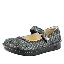 Alegria Belle Diamonds Forever leather womens mary jane comfort shoe