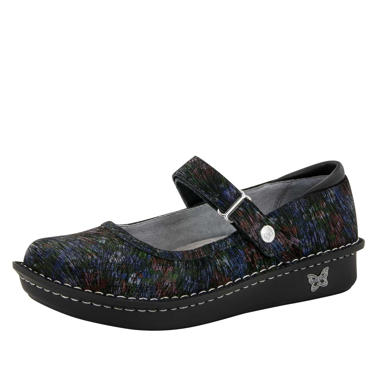 Alegria Belle Raked Garden leather womens mary jane comfort shoe. View  Larger Photo Email ...