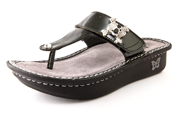 Alegria Shoes Carina Charcoal