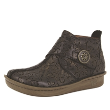 Alegria Caiti Bronze Eyed Susan womens comfort ankle boot