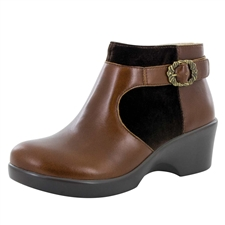 Alegria Cici Chestnut Luster dress bootie