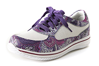 Alegria Cindi Purple Haze slip resistant athletic shoe for women