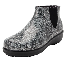 Alegria Rain Boot Climatease Wild Child Black