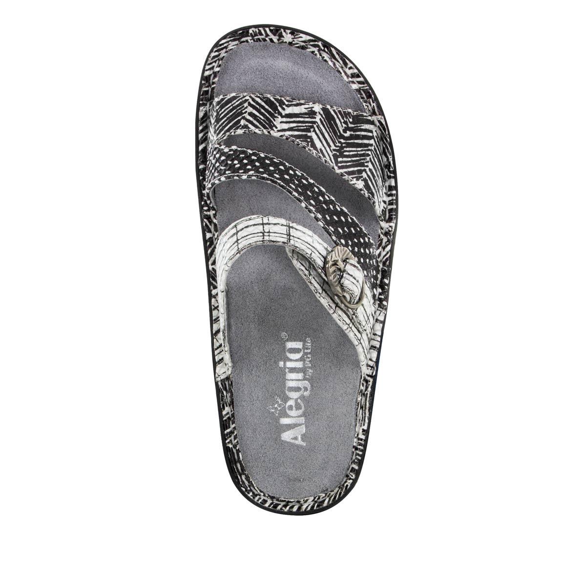 9ca9b7b8c Colette Unity Black   White - Alegria Shoes