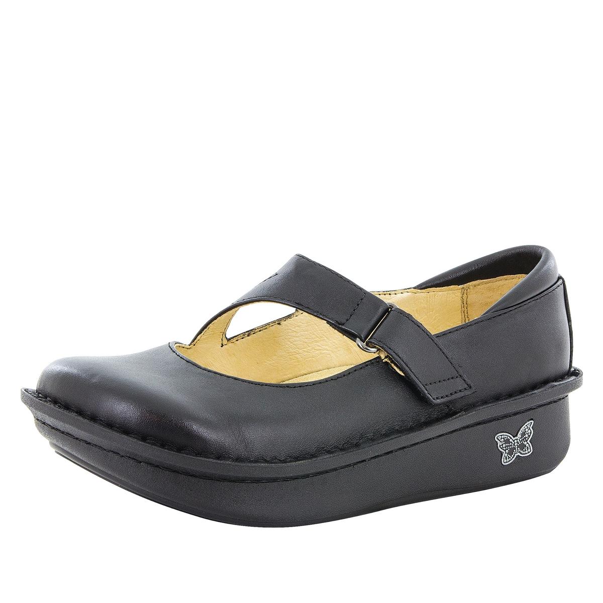 Alegria Shoes - Dayna Black Napa
