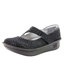 Alegria Dayna Tile Me More Black mary jane shoes for women