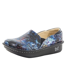 Alegria Debra Vortex multi-color womens slip resistant nursing shoe