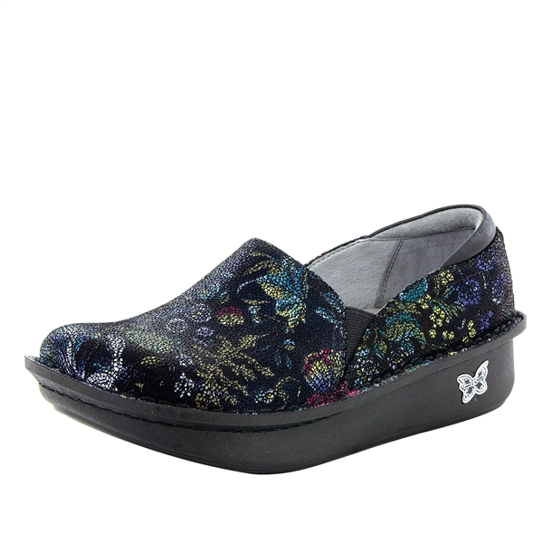 Alegria Debra Herbaceous multi-color womens slip resistant nursing shoe