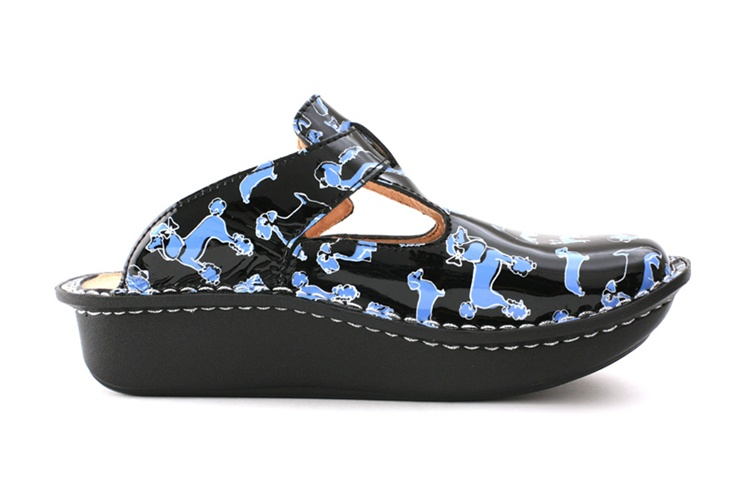Alegria Shoes Donna Black Small Dogs